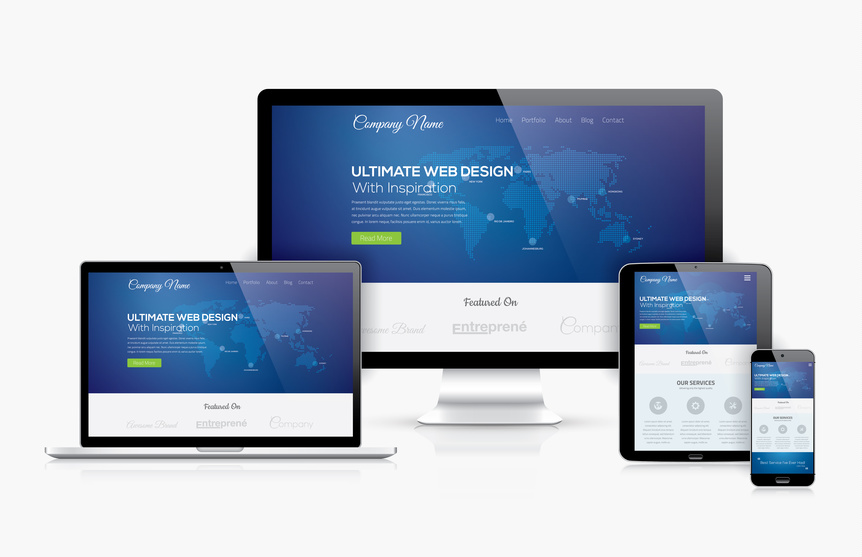 Responsive & suchmaschinenoptimierte Website